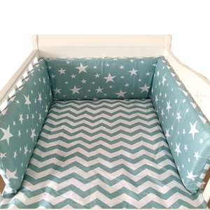 Wholesale Crib Bumper Around Cot Baby bed Nursery Sets for Infant Cradle Cartoon Boy Girl Bedding Long x30cm roupa infantil