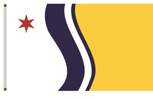 Wholesale Indiana Banner City of South Bend Flag