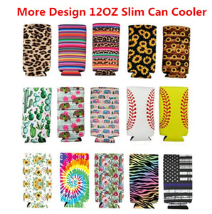 Neoprene Stubby Holders Foldable Beer Cooler Bags Pouch For Wine Food Can Cover Cooler Stubby Holder Kitchen Bar Supplies Customized Style