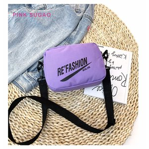 Wholesale Pink Sugao women shoulder bags luxury purses designer crossbody bag new fashion small camera bag hot sales messenger bag factory wholesales