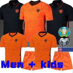 Netherlands 2020 Mens Jersey Kids Kit DE LIGT 19 20 VIRGIL WINE ALDUM Soccer Jersey MEMPHIS YOUNG Soccer Jersey Holland SNEIJDE Gullit