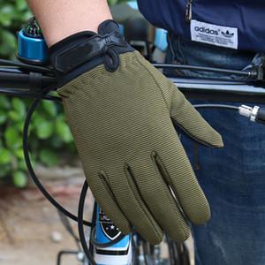 Non-slip tactics full finger gloves outdoor climbing gloves sports fitness sun protection riding gloves cycling tactical mitten LJJZ563