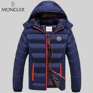 Wholesale 2019 winter new men s self cultivation and comprehensive sports zipper fashion casual Slim thin down hooded jacket down jacket