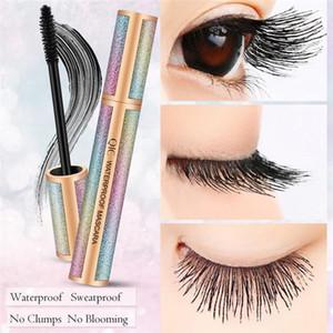 QIC Starry Eyeliner Matte Black Color 4D Long Mascara Waterproof Long Lasting Super Slim 3D Liquid Eye Liner Tattoo Pen No Fading