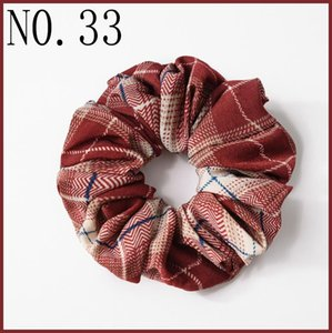 free shipping 150pcs Women Elegant Velvet Solid Elastic Hair Bands Ponytail Holder hair Scrunchies Tie Hair Rubber Band Headband Lady Hair-B on Sale