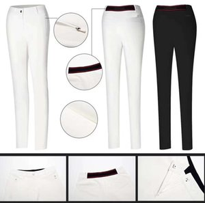 2019 OEM Ti golf long pants Summer dry fit cultivate figure elasticity sports pants for women 2 colors available on Sale