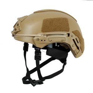 Wholesale-Real NIJ Level IIIA 3A Ballistic UHMW-PE Protective Security Helmets EXFIL Rapid Reaction PE Ballistic Tactical Helmet