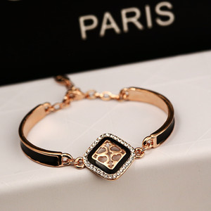 Wholesale high quality rose gold bracelets bangles for women best gift fashion jewelry