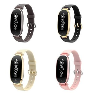 Wholesale Hot Women S3 Smart Bracelet Heart Rate Monitor Alarm Clock Waterproof Fitness Watch Tracker Pedometer Step Counter Wristband