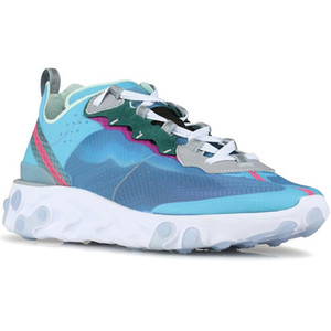 Wholesale New React Mens Running Shoes Sneakers Women Trainer Sports Volt Racer Pink Royal Tint Most Colors