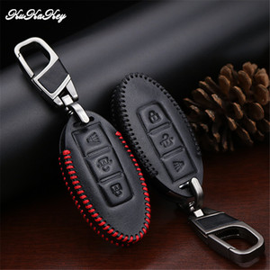 Wholesale Car Key Ring Chain For Nissan Qashqai Juke Note Almera Teana Tiida Murano Pathfinder Infiniti Q50 Protective Key Case Cover