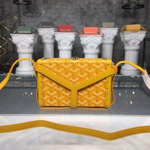 2020 Brand New Goyarrd Goyar GY designer High quality Classic unisex goya box bag leather small square bag small diagonal bag