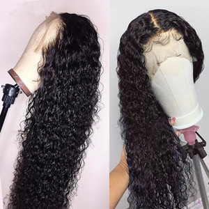 Wholesale malaysian jerry curl hair resale online - Brazilian Jerry Curl Wig Lace Front Wig Short Curly Lace Front Human Hair Wigs Pre Plucked Wigs For Black Women