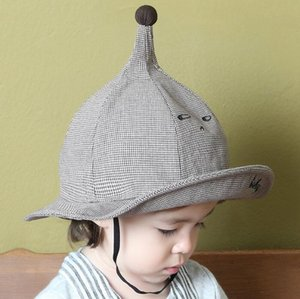 Wholesale baby elf hats resale online - Witchcraft hat children cute pointed elf hat boys and girls baby embroidery alphabet fisherman hat autumn shade