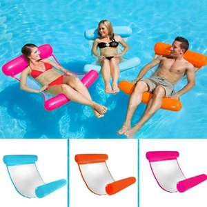 130*73CM Summer Foldable Inflatable Floating Row Air Mattresses Beach Swimming Pool Chair Cushion Hammock Water Sports Piscina