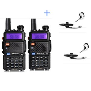 Wholesale 2pcs UV5R Two Way Radio Pofung BF UV5R FM Transceiver UV R amateur yaesu cb Radio station telsiz Baofeng uv r Walkie Talkie