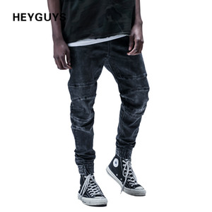 Wholesale Cool2019 Dark Street Grey Stovepipe Pedicure Trousers Cowboy Male Land Self-cultivation Joker Bound Feet Elastic Force Leisure Time Concise