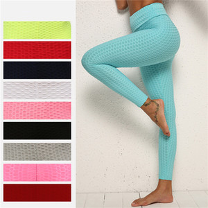 mechanik kleidung großhandel-Frauen hexagon fitness leggings sexy activewear lift butts übung tragen hohe taille yoga hosen weibliche honeycomb body mechanics clothing