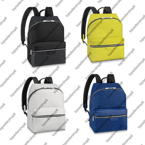 Wholesale yellow backpacks resale online - M30230 M43186 M30229 DISCOVERY BACKPACK PM Men Women Designer Original Cow Leather Eclipse Canvas Satchel Shoulder Bag Purse