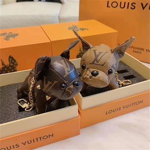 2019 original brand design Super Cute Puppy Keychain Bag Pendant Car Decoration Luggages Bag Parts accessories Gifts on Sale