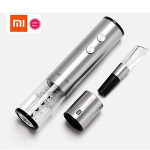 XIAOMI Mijia Wine Stopper  Wine Decanter   Electric Opener Bottle optional Round Stainless Steel Corks smart original gift