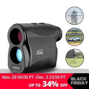 Wholesale ptical Instruments Rangefinders DEKOPRO Rangefinder Golf Hunting Measure Telescope Digital Monocular Laser Distance Meter Speed Tester