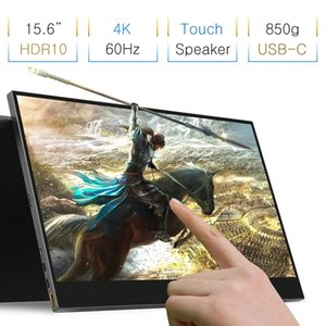 Wholesale Narrow Frame quot K Touch Game Screen For PS4 Switch XBOX NS Portable Expansion Touch Monitor For Laptop PC Computer Phone