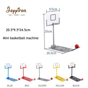 Wholesale New Children s Folding Decompression Toys Alloy Basketball Stand Mini Table Basketball Machine for Boys Friends Best Gifts SH190913