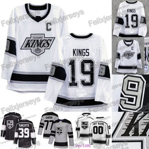 Wholesale 90s Era Heritage Los Angeles LA Kings Drew Doughty Anze Kopitar Dustin Brown Clifford Jack Campbell Alex Jeff Carter Jonathan Quick Jersey