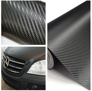 2019 New Hot 1.27Mx30 cm DIY carbon fiber wrapped sticker for car, computer, window, motorcycle on Sale