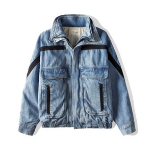 19SS FOG 6TH Mens Jackets High Street Fashion Coat Washed Tooling Windbreaker Denim Jacket