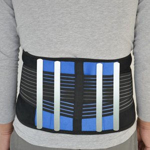 Wholesale back pain support belts for sale - Group buy Plus Size XL Adjustable Support Sport Accessories Back Support Brace Belt Lumbar Lower Waist Double Adjust Back Pain Relief Men