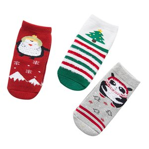 Wholesale 2019 Christmas Baby Socks Boys Ankle Socks Girls Sock Children Sock casual Kids Sock A8419