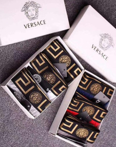 Designer Brand Mens Boxers Fashion Sexy Designer Boxers Short Male Cueca Male Boxers Underpants with box XXLversace
