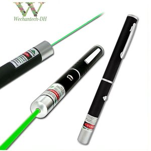 Wholesale Factory MW nm Green Laser Pen Black Strong Visible Light Beam Laserpoint colors Powerful Military Laser Point Pen