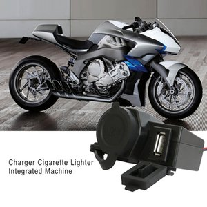 Wholesale Classic Motorcycle Car Phone Charger Waterproof Cigarette Lighter USB One Machine v Power Socket A