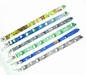 Wholesale New Style Mixed My neighbor totoro Lanyard For Cell Phone Lanyards Straps ID Card Long cm