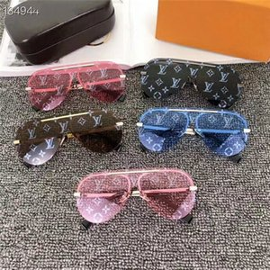 New men Sunglasses Women Beautiful round Summer Style Full Frame Top Quality UV Protection Mixed Color Come With Box
