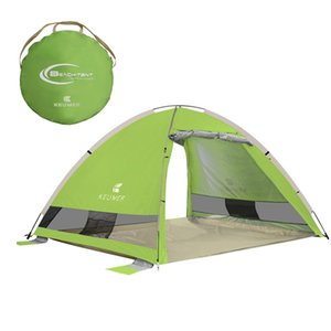 Wholesale Outdoor Camping Tent Automatic Instant Up Beach Tent Lightweight Outdoor Uv Protection Sun Shelter High Quality Tents