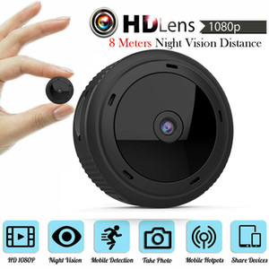 Wholesale W10 VS W8 Mini WiFi Camera P HD IR Night Vision Home Security IP Camera CCTV Motion Detection Baby Monitor Wireless DV DVR Camcorders