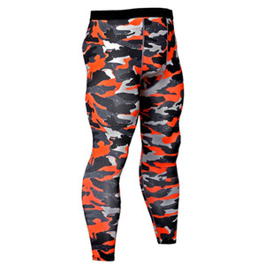 Wholesale compression leggings for sale - Group buy 2019 Camouflage Compression Superelastic Tight Pants Men Gyms Fitness Leggings Male Joggers Skinny Trousers Sportswear