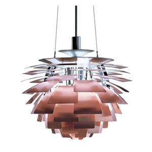 Dia 38 48cm Modern PH Artichoke Pendant Lamp Chandelier Hotel Home Living Room Ceiling Light Fixtures PA0036