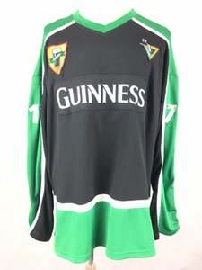 1759 Irish Dublin St Patricks Day Guiness Beer Hockey Jersey Embroidery Stitched Customize any number and name Jerseys on Sale