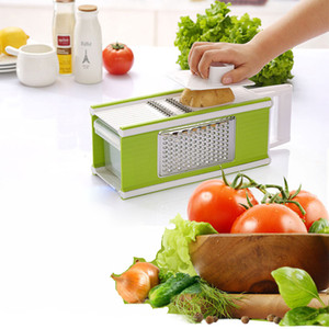 Mandoline Grater Slicer Vegetable Cutter Manual Multifunctional 5 in 1 Grater Peeler Vegetable Kitchen Tool Dropshipping