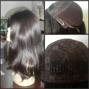 10A Grade Virgin Brazilian Silky Hair 4x4 Silk Top Jewish Wigs Best Sheitels Finest European Virgin Human Hair Kosher Wigs Free Shipping