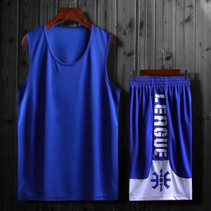 2019 Basketball Jerseys 2019 Men Kids Shirt + Shorts Uniforms Set Breathable Customized Basketball Teams Training suits