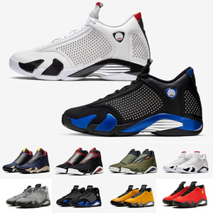 Wholesale 2019 New s Chrome Light Graphite Fusion Varsity Red Suede Men Basketball Shoes Last Shot Thunder Black Yellow DMP Sneakers With Box