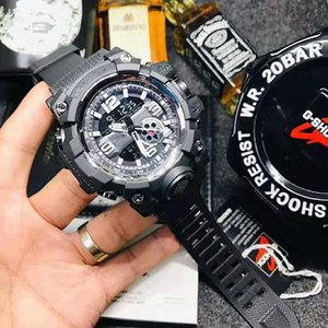Wholesale brand men s sports digital wristwatch Sport reloj hombre Army Military chronograph watch shock resist relogio masculino Casual hours