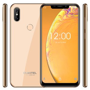 "2019 new OUKITEL C13 Pro 5G 2.4G WIFI 6.18"" 18:9 2GB 16GB Android 9.0 Mobile Phone MT6739 Quad Core 4G LTE Smartphone Face ID"