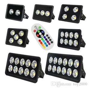 Wholesale New Arrived CE RGB Led Floodlight V W W W W W W W led Outdoor Flood light waterproof LED lights street lighting